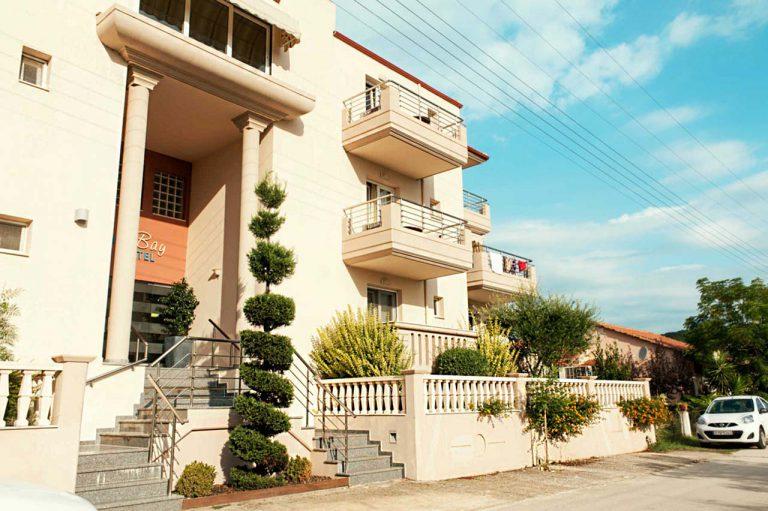 Ammos Bay hotel Front/Πρόσοψη Ξενοδοχείου Ammos Bay