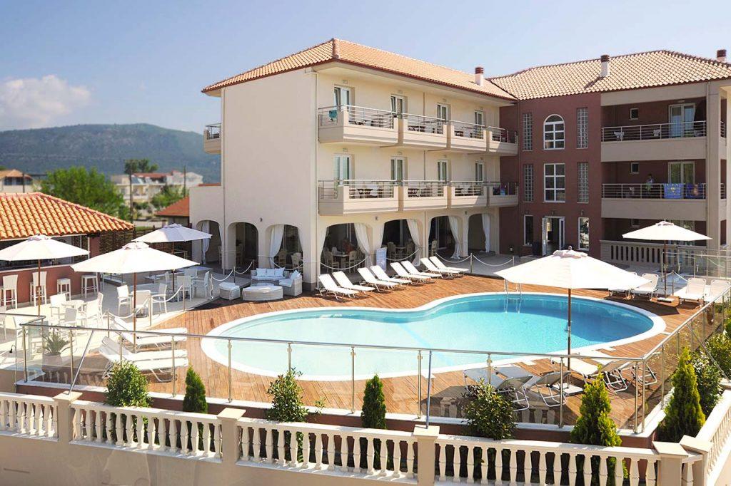 Ammos Bay hotel exterior/Εξωτερικό ξενοδοχείου Ammos Bay